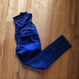 Gap Maternity jeans 27 real straight